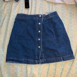 VINTAGE GAP Button Up Skirt